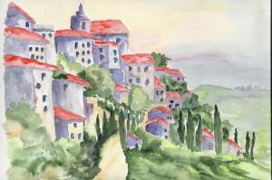 Village de Gordes dans annuaire numérisation0001-41-300x199